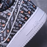 Nike Air Force 1 Low Just Do It Pack Black 10