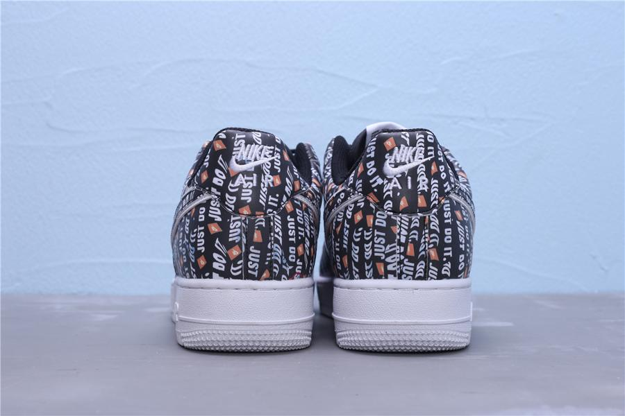 Nike Air Force 1 Low Just Do It Pack Black 2