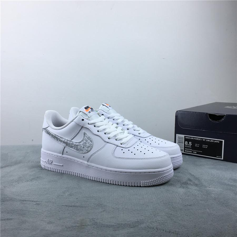Nike Air Force 1 Low Just Do It Pack White Clear 1