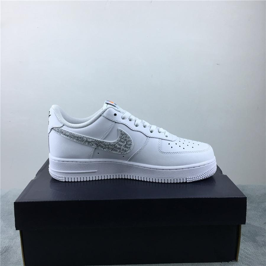 Nike Air Force 1 Low Just Do It Pack White Clear 3