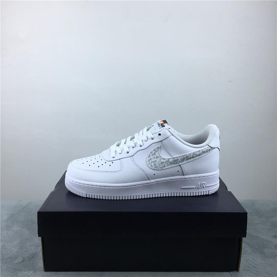 Nike Air Force 1 Low Just Do It Pack White Clear 4