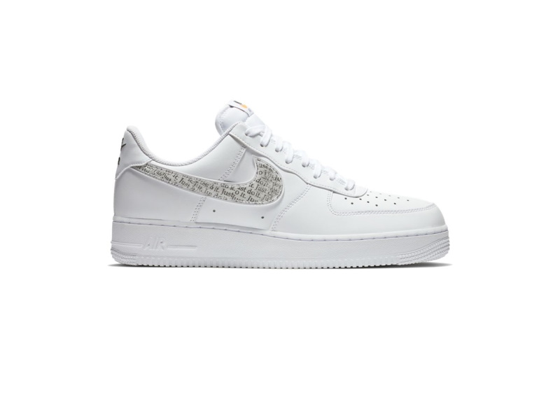 Nike Air Force 1 Low Just Do It Pack White Clear
