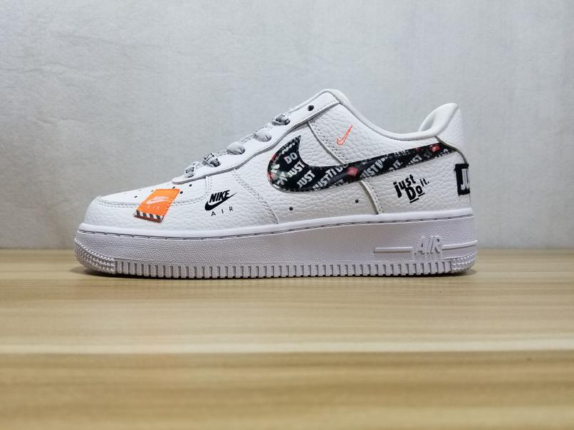 Nike Air Force 1 Low Just Do It Pack White GS 1