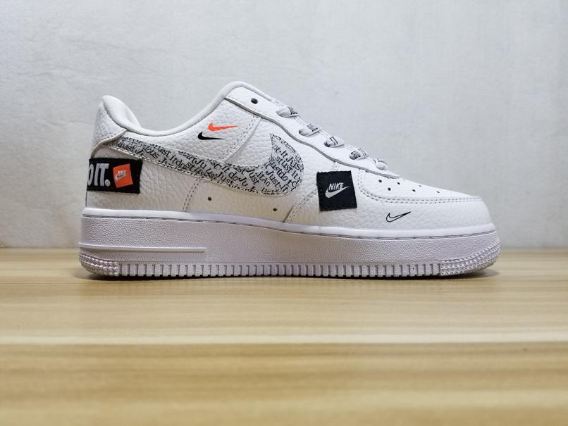 Nike Air Force 1 Low Just Do It Pack White GS 3