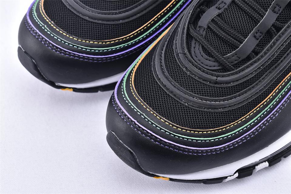 Nike Air Max 97 Black Multi Stitch W 3