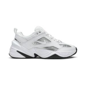 Nike M2K Tekno White Metallic Silver Black W