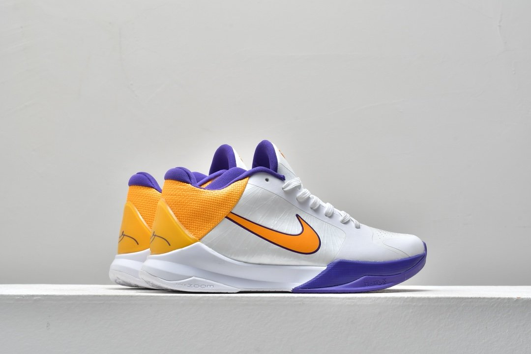 Nike Zoom Kobe 5 Lakers 7