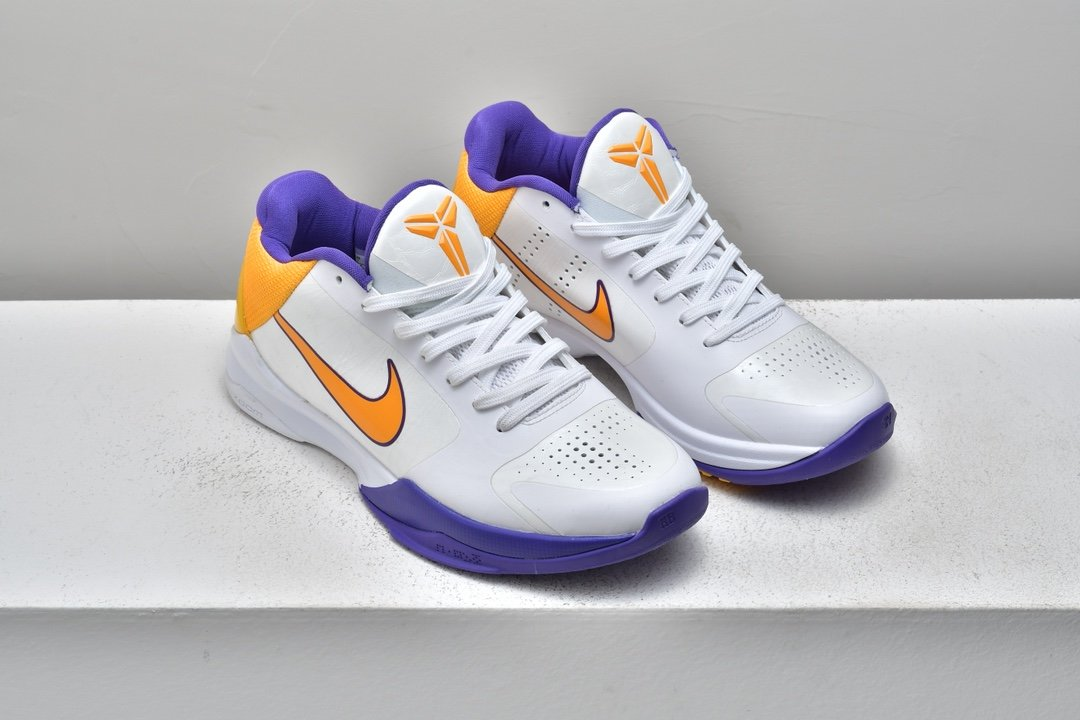 Nike Zoom Kobe 5 Lakers 8