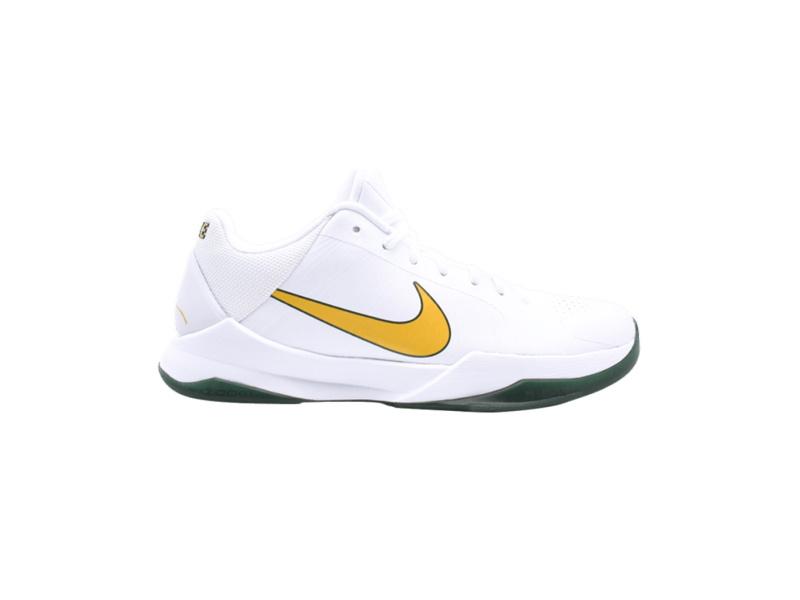 Nike Zoom Kobe 5 Rice White