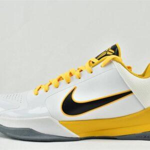 Nike Zoom Kobe 5 White Black Del Sol 1