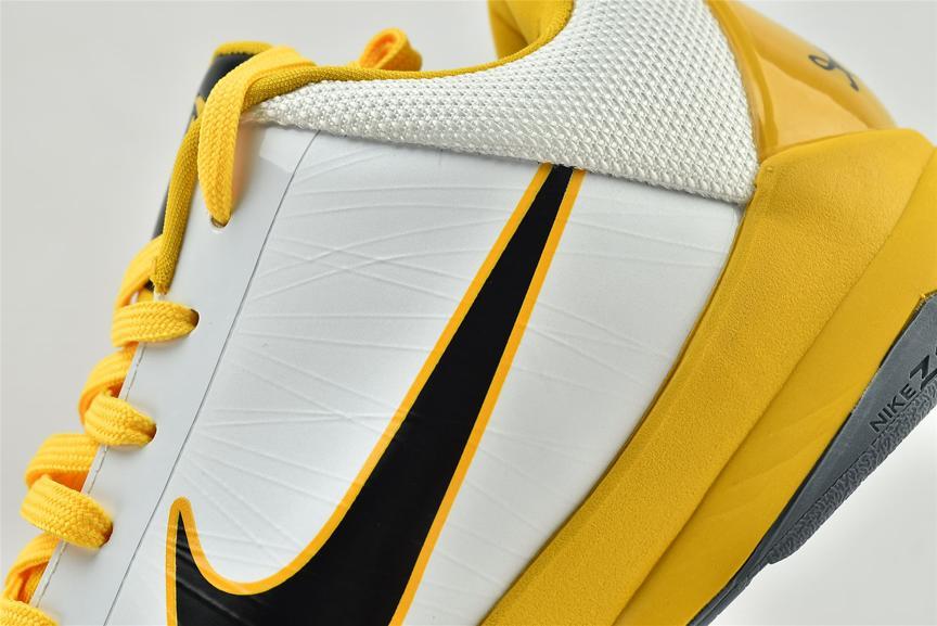 Nike Zoom Kobe 5 White Black Del Sol 4