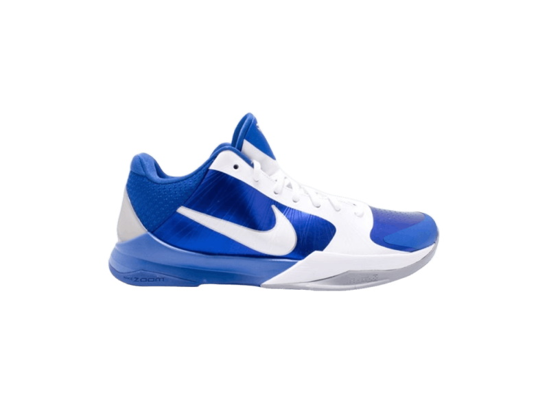 Nike Zoom Kobe 5 White Varsity Royal