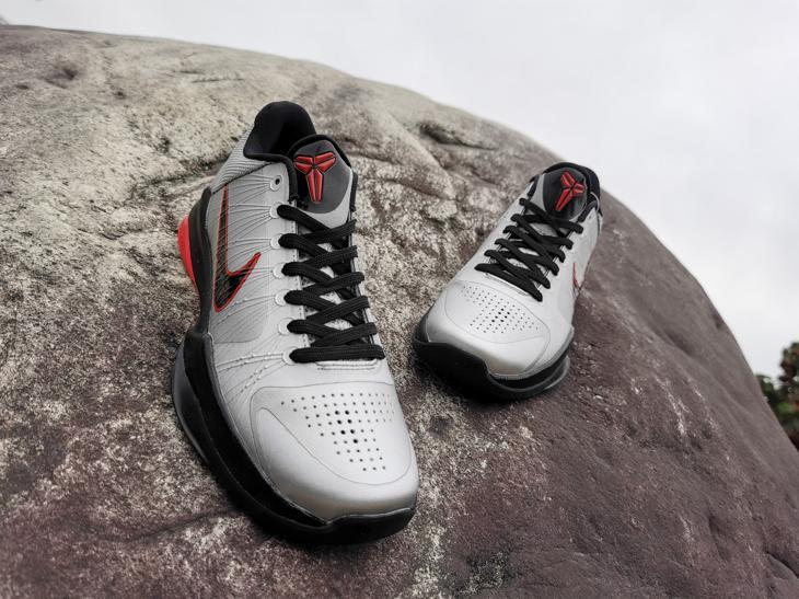 Nike Zoom Kobe 5 Wolf Grey 7