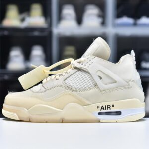 Off White x Wmns Air Jordan 4 SP Sail 1