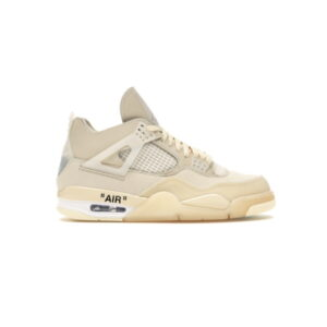 Off White x Wmns Air Jordan 4 SP Sail