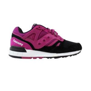 Saucony Grid Sd Premium Shoes Berry Black