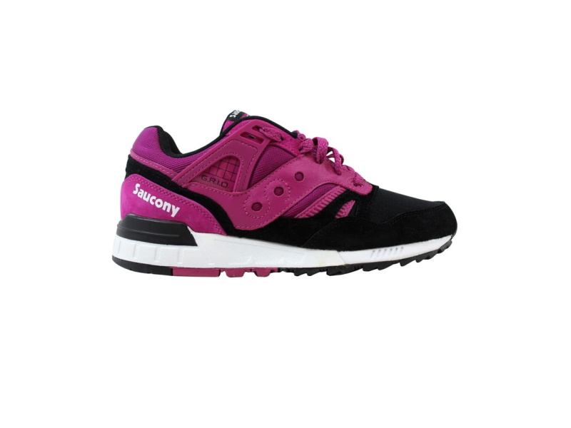 Saucony Grid Sd Premium Shoes Berry Black