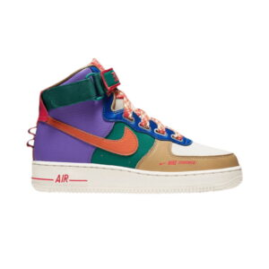 Wmns Air Force 1 High Utility Force is Female Multi-Color