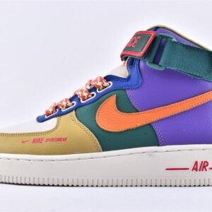 Wmns Air Force 1 High Utility Force is Female Multi Color 1