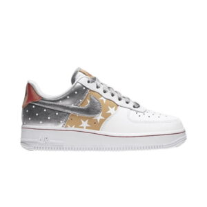 Wmns Air Force 1 Low Metallic Gold