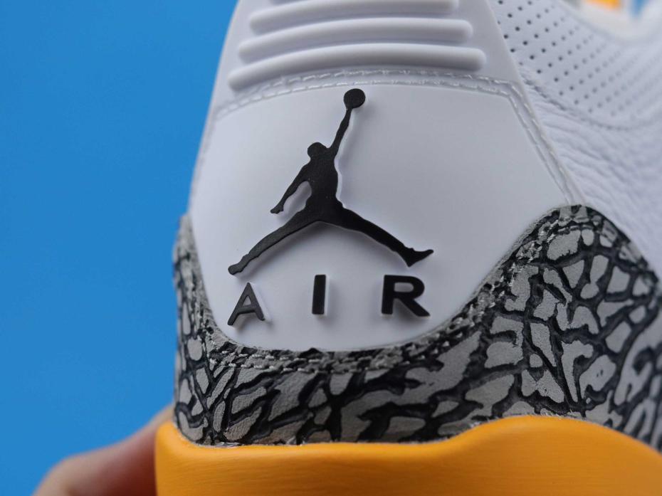 Wmns Air Jordan 3 Retro Laser Orange 7