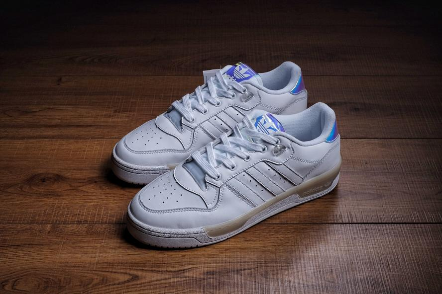 Wmns adidas Rivalry Low Footwear White 1