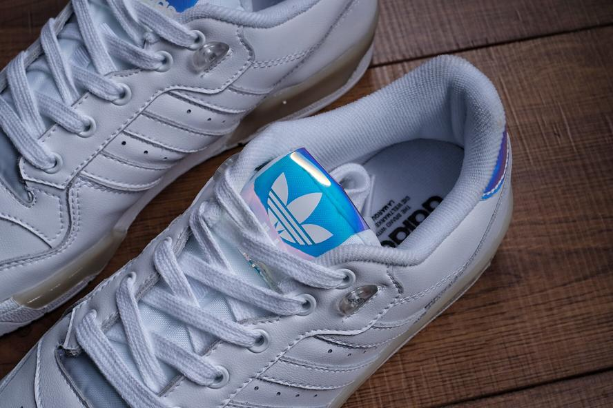 Wmns adidas Rivalry Low Footwear White 3