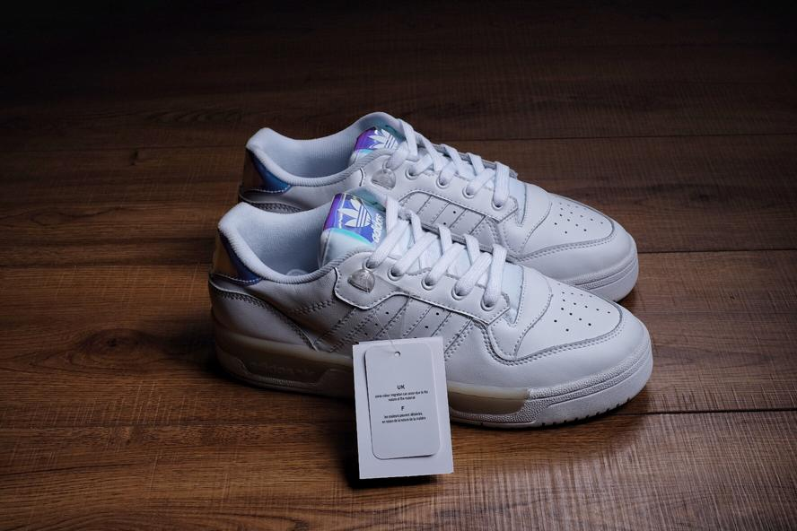 Wmns adidas Rivalry Low Footwear White 5
