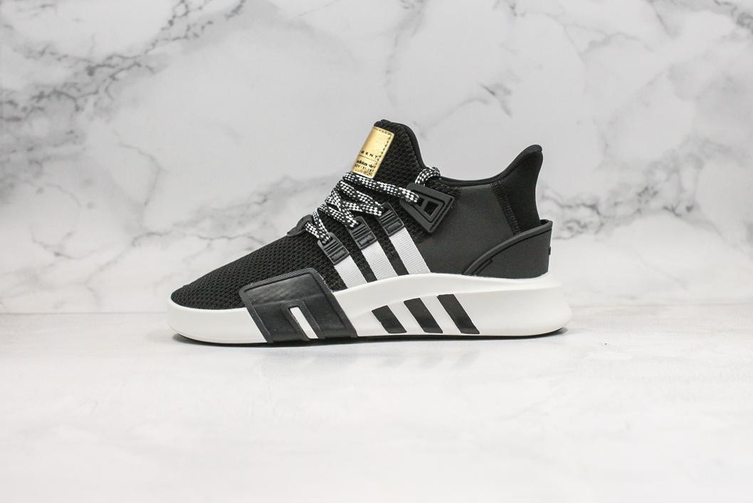 adidas EQT Bask ADV Black White 1