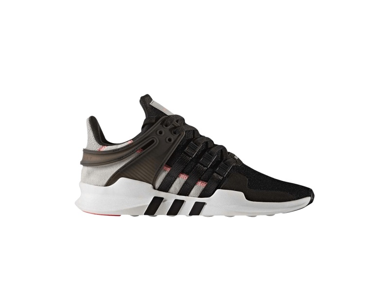 adidas EQT Support Adv Black Grey Turbo Red