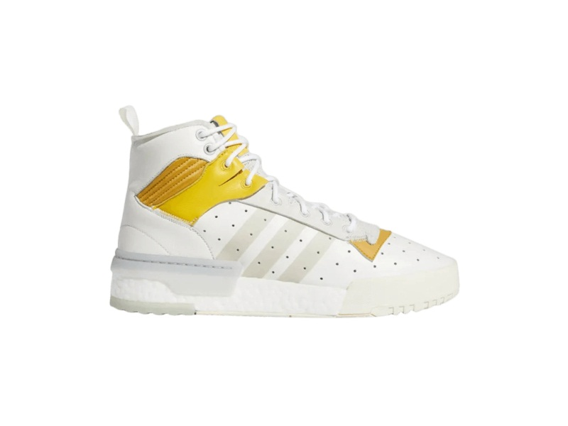 adidas Rivalry RM White Mustard