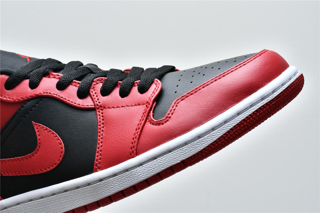 Air Jordan 1 Low Reverse Bred 14