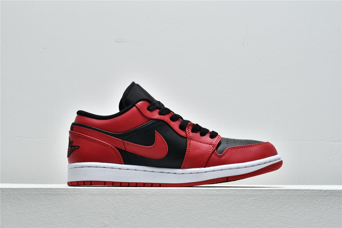 Air Jordan 1 Low Reverse Bred 2