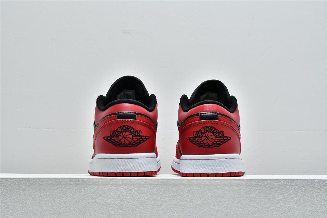 Air Jordan 1 Low Reverse Bred 6