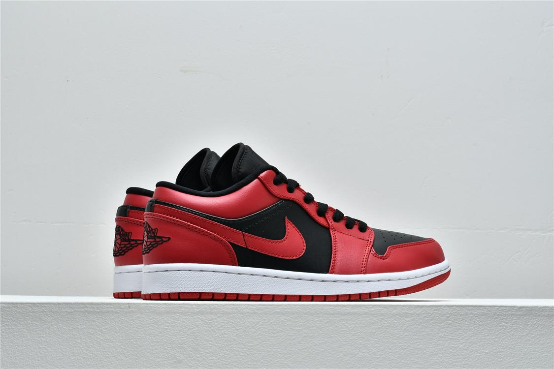 Air Jordan 1 Low Reverse Bred 7