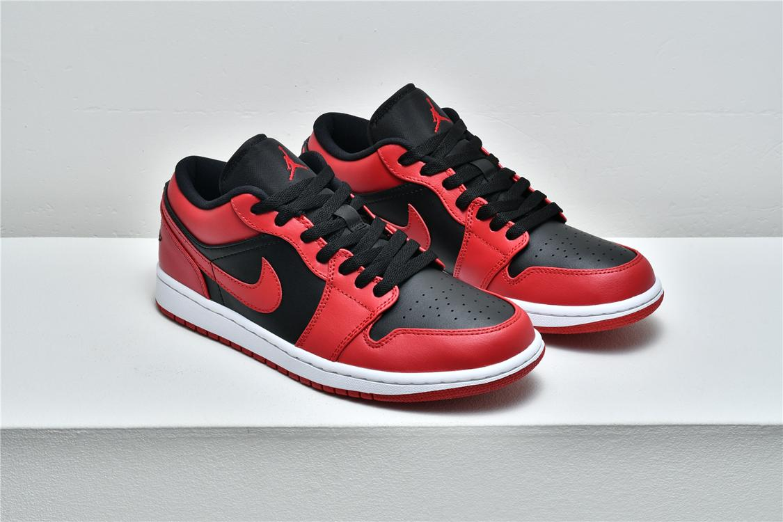 Air Jordan 1 Low Reverse Bred 8