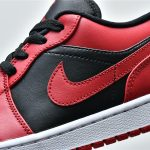 Air Jordan 1 Low Reverse Bred 9