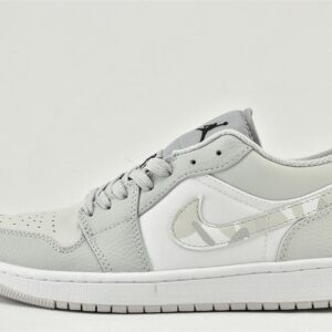Air Jordan 1 Low White Camo 1