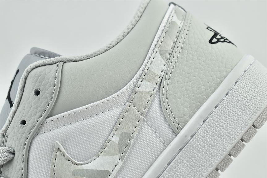 Air Jordan 1 Low White Camo 12