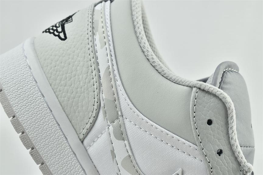 Air Jordan 1 Low White Camo 13