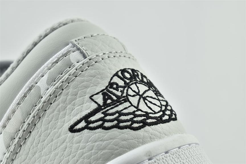 Air Jordan 1 Low White Camo 14