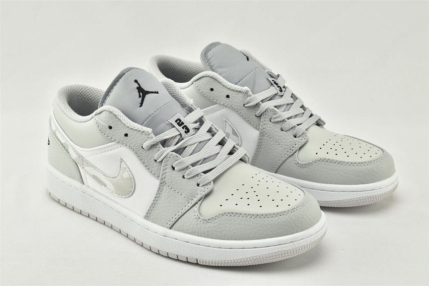 Air Jordan 1 Low White Camo 2