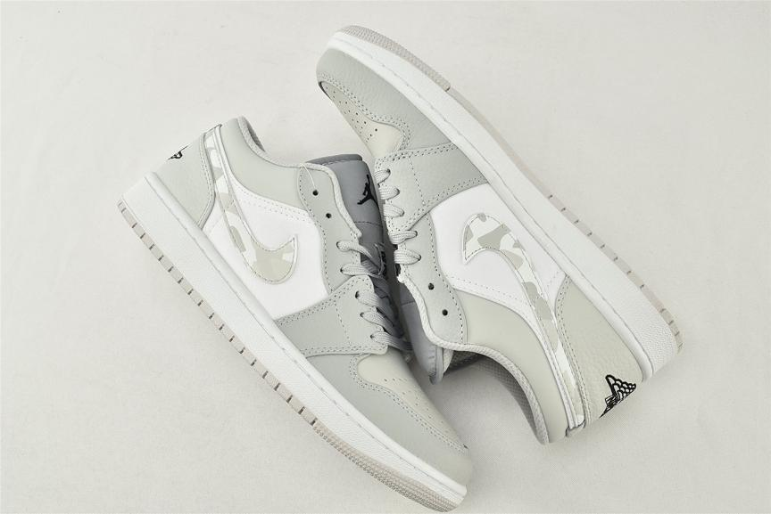 Air Jordan 1 Low White Camo 4