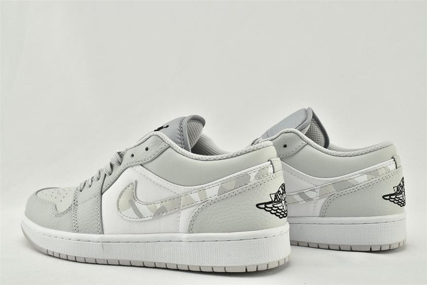 Air Jordan 1 Low White Camo 6