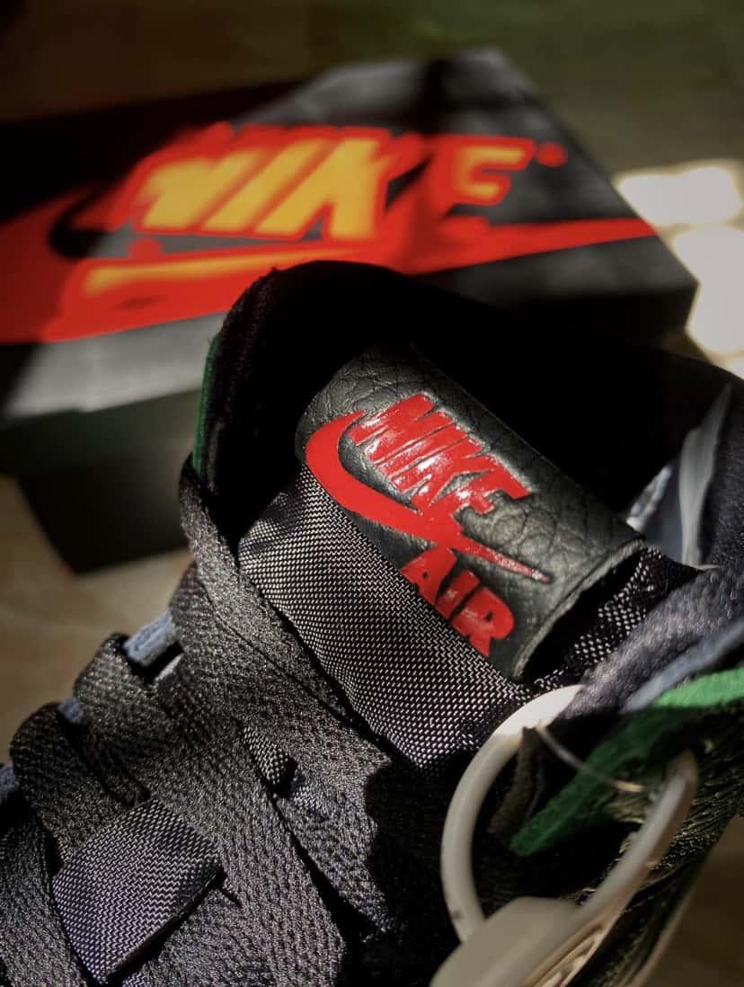 Air Jordan 1 Retro High OG GS Pine Green 2.0 3