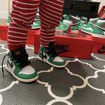 Air Jordan 1 Retro High OG TD Lucky Green 13