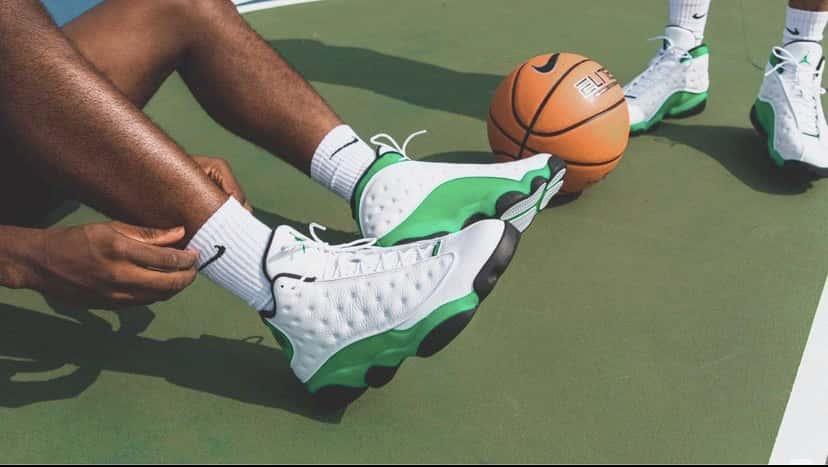 Air Jordan 13 Retro GS Lucky Green 2