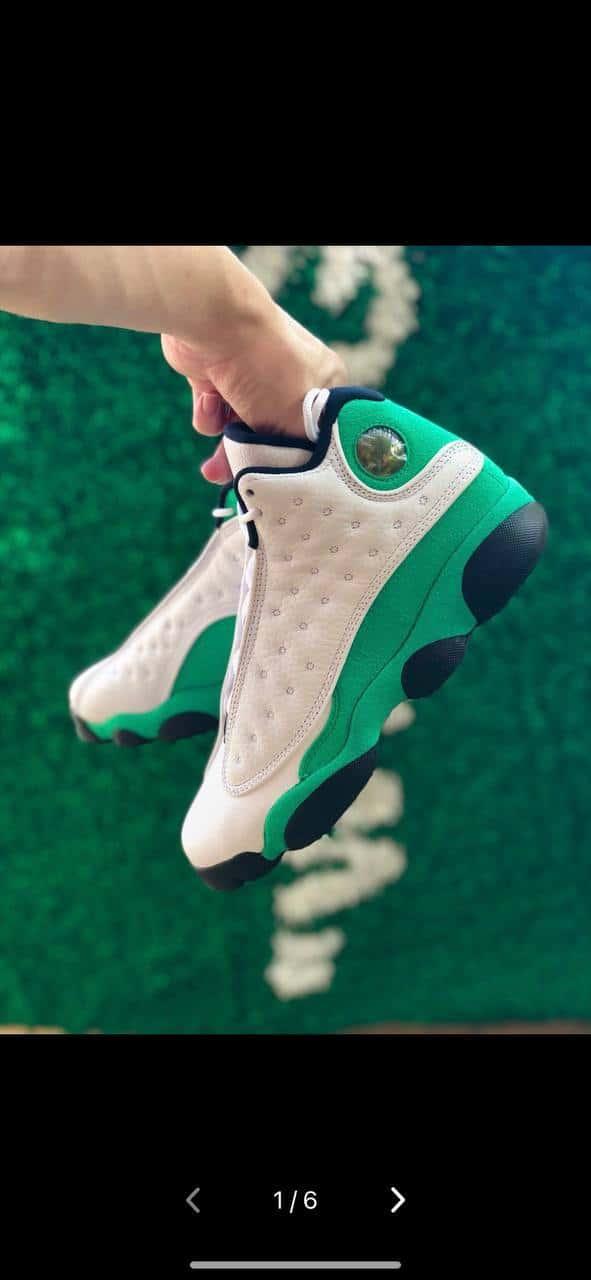 Air Jordan 13 Retro GS Lucky Green 3