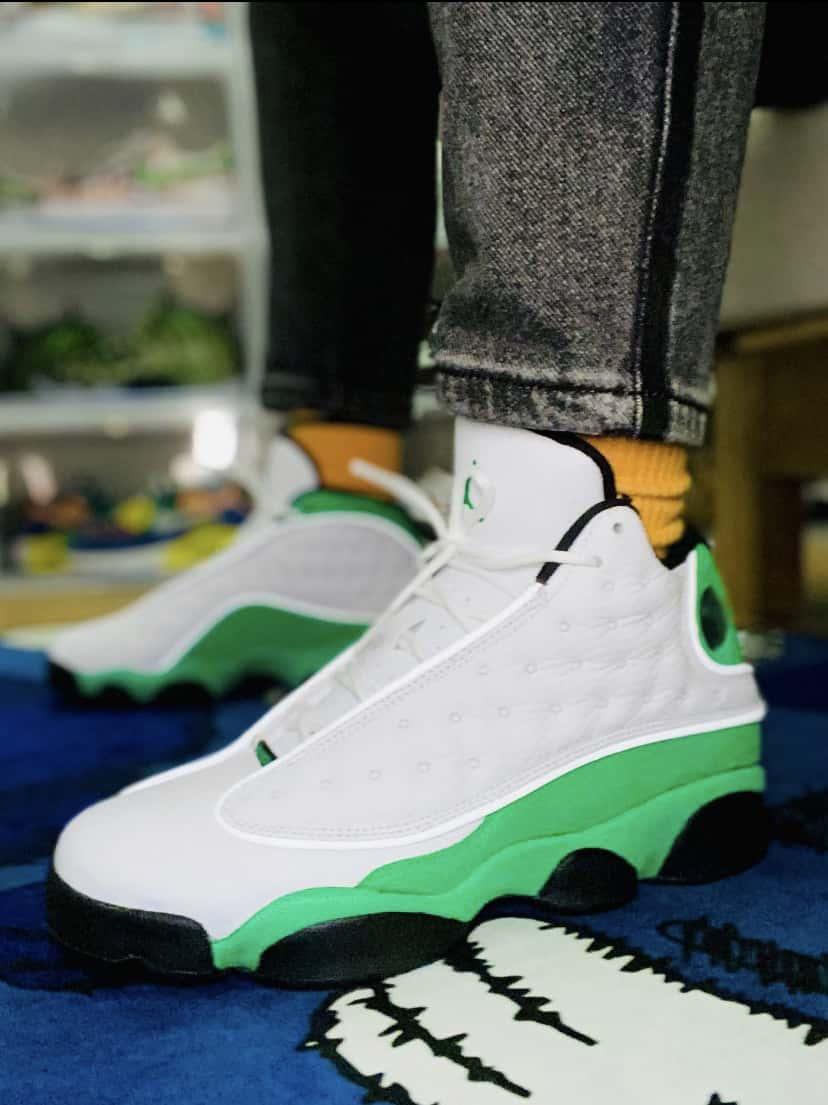 Air Jordan 13 Retro GS Lucky Green 5
