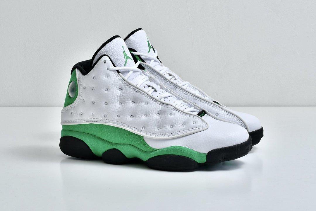 Air Jordan 13 Retro Lucky Green 8